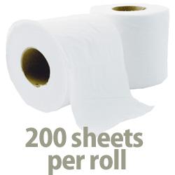 sheets per toilet roll