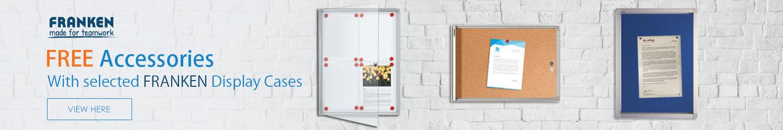 FRANKEN Lockable Display Boards SPECIAL OFFER
