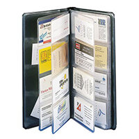 Rolodex clear business card sleeves 67 x 102mm 67691 pack 40 business card holders reheart Image collections