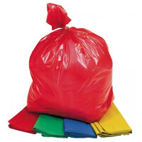 Colour coded bin bags