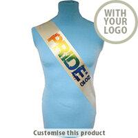 Custom Branded Promotional Sashes