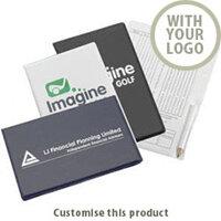 Custom Branded Promotional Golf Scorecard Holders