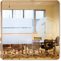 Glass Manifestation Graphics & Frosted Window Film Designs