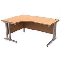 Ergonomic L-Shaped Desks
