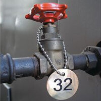 Pipeline and Valve Marking Tags