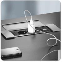 desk power outlet. Power Modules \u0026 Cable Management Desk Outlet N