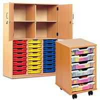 School Storage Trolleys & Trays
