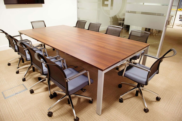 1E Office Fitout in Dublin City by HuntOffice Interiors Meeting Room
