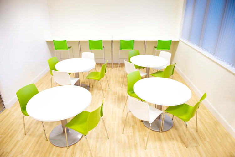1E Office Fitout in Dublin City by HuntOffice Interiors Canteen Furniture