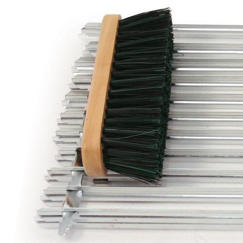 Heavy Duty Boot Scraper Door Mat Metal 400x300mm Spc Bs02