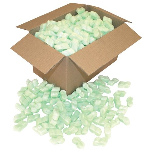s shaped polystyrene packaging foam chips 15 cubic feet. Black Bedroom Furniture Sets. Home Design Ideas