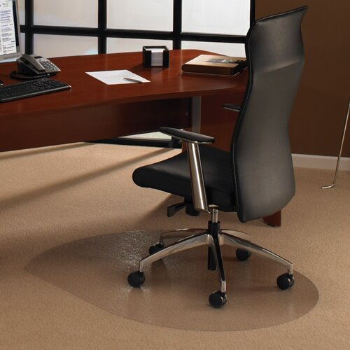 Chair Mat Contoured For Carpet Protection 990x1250mm Cleartex Ultimat HuntO