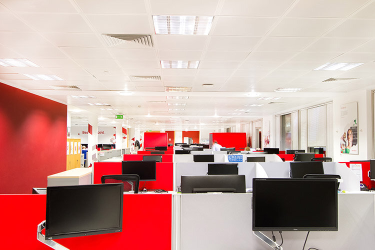 Fitout of Bearing Point Office in Dublin: Desking