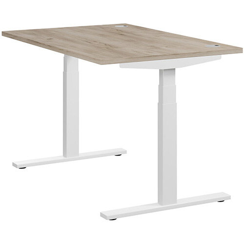 LEAP Electric Height Adjustable Sit Stand Desk Portal Top ...