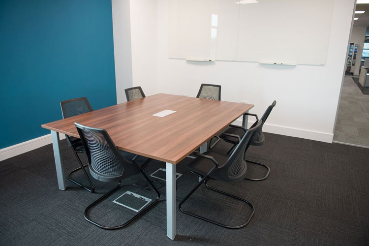Amazon Contact Centre in Cork Office Fitout Project: Meeting Room