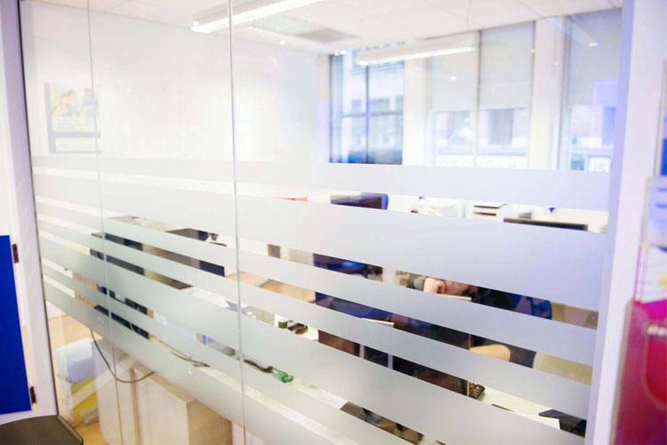 CBN Office Fitout in Dublin by HuntOffice Interiors Glass Partition