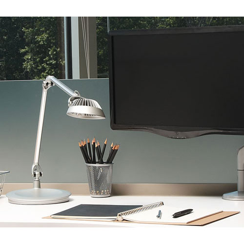 Humanscale Element Vision LED Light Silver - HuntOffice.co.uk