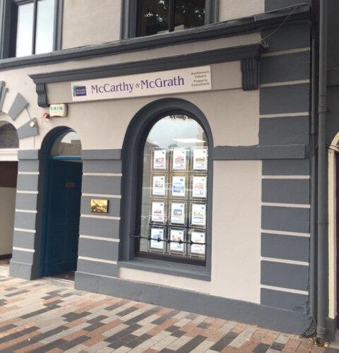 McCarthy Mcgrath Cork Reception Area Fitout