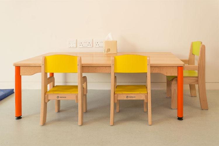 West Limerick Children's Services Facilities Fit-Out Kids Table