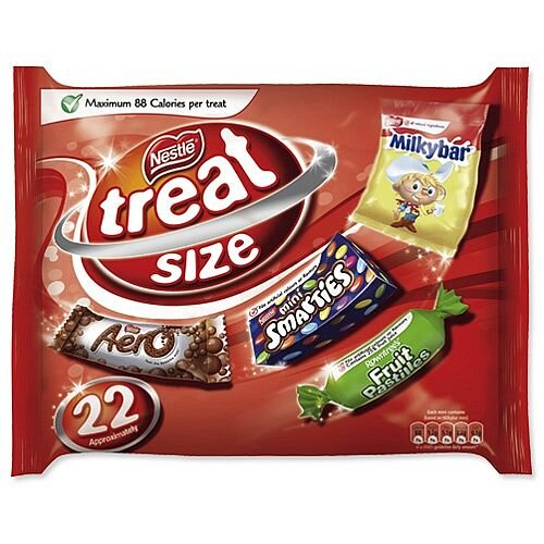 Nestle Favourites Treat Size Confectionery [Pack 22] Ref 12132777