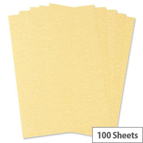A4 100gsm Gold Parchment Premium Paper 100 sheets