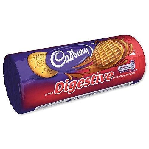Cadbury Milk Chocolate Digestive Biscuits 300g Ref 12595 [Pack 12]