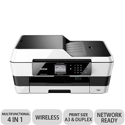 Brother MFC-J6520DW A3 Multifunction Inkjet Printer Wireless