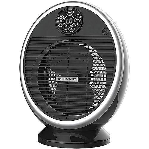 Bionaire Digital Fan Heater Oscillating 2 Heat Settings and Fan-only Setting 2.2kW Ref BFH004