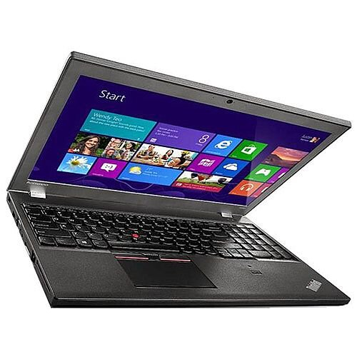 Lenovo ThinkPad T550 (15.6 inch) Notebook Core i5 (5200U) 2.2GHz 8GB (1x8GB) 256GB SSD WLAN BT Webcam Windows 7 Pro 64-bit/Windows 8.1 Pro 64-bit RDVD (Intel HD Graphics 5500)