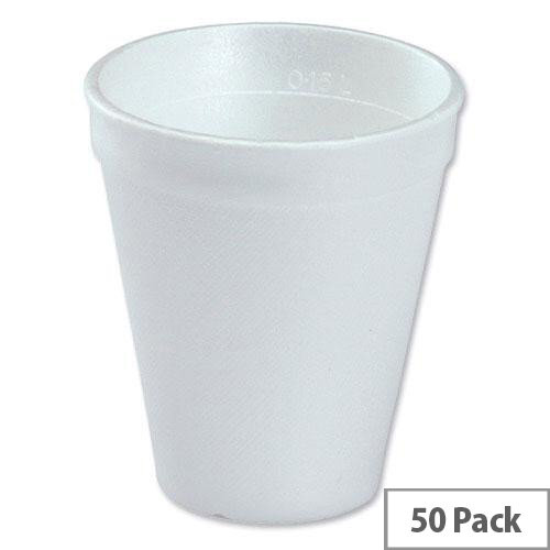 Robinson Young Insulated Disposable Vending Cups 7oz/200ml for Hot Drinks [Pack of 50]