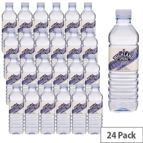 Highland Mineral Water Still Bottle 500ml Pack 24