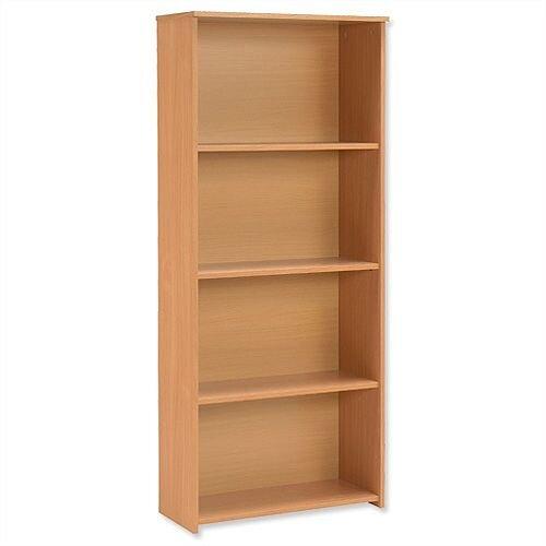 Trexus Basics Budget Bookcase Tall W740xD340xH1770mm Beech
