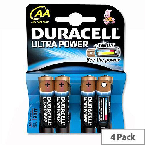 Duracell Ultra M3 AA 1.5V Batteries High Tech Application 7035058 Pack 4