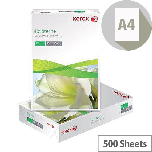 Xerox A4 Colotech Plus 90gsm White Premium Copier Paper 500 Sheets