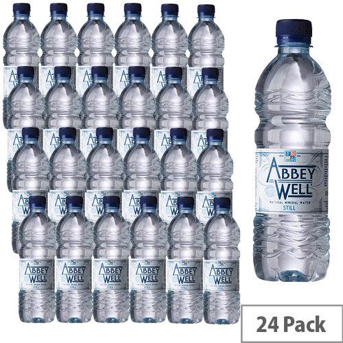 Abbey Well Still Mineral Water Bottle 500ml Pack 24