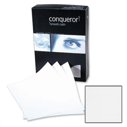 Conqueror CX22 Super Smooth Texture Diamond White Premium Paper A4 100gsm 500 Sheets