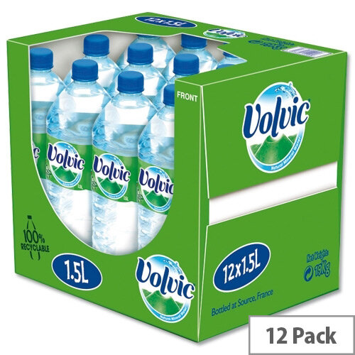 Volvic 1.5 Litre Still Water Bottle Pack 12