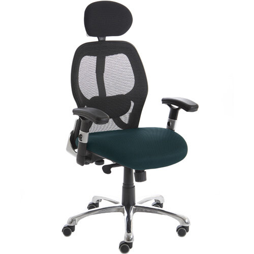 sanderson high back executive office chair kingfisher green
