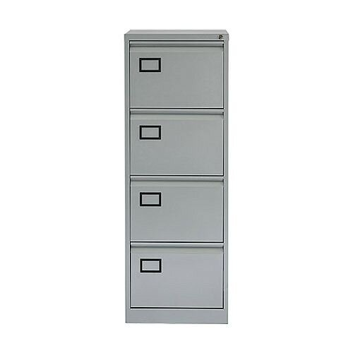 4 Drawer Filing Cabinet Grey SPECIAL OFFER Jemini By Bisley