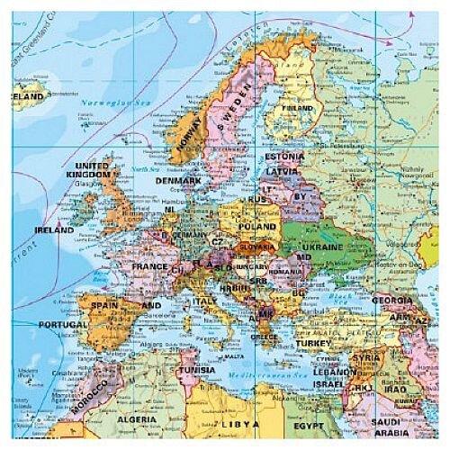 franken world map pinnable board 1 33 000 000 133x88cm huntoffice