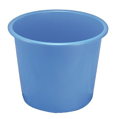 Q-Connect Waste Bin 15 Litre Blue KF01127