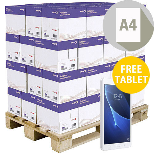 Pallet Of Xerox Premier High Performance A4 White Printer Paper 80gsm 200 Reams Per Pallet FREE IPAD MINI