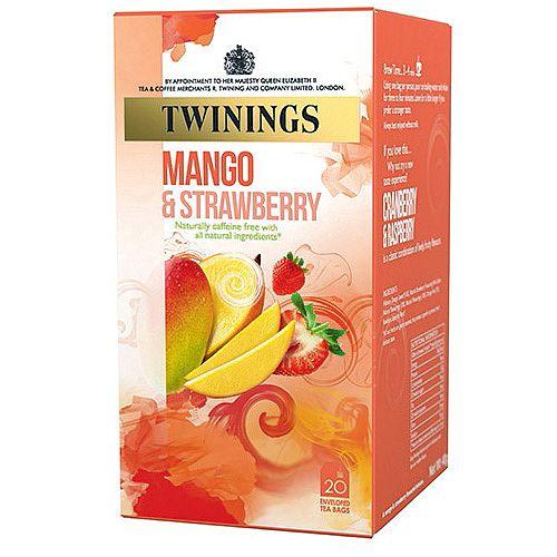 Twinings Mango Strawberry Tea Infusion Pack 20