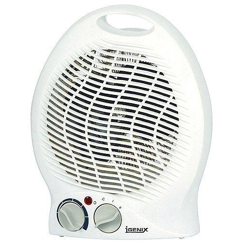 Igenix 2KW Flat Fan Heater White IG9020