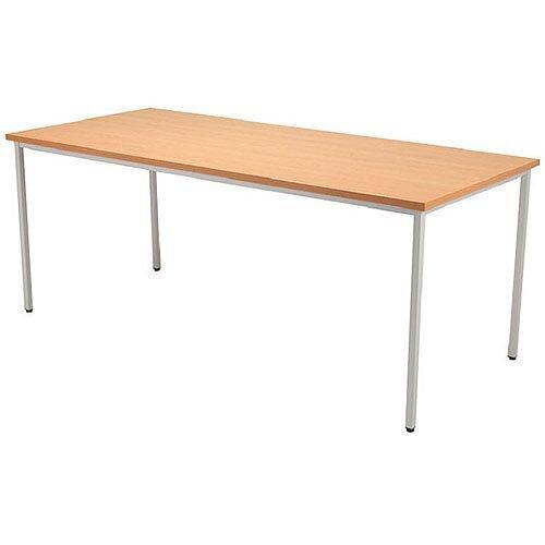 Jemini Rectangular Table 1600x800mm Beech KF72373