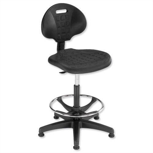 lab high chair gas lift seat black trexus huntoffice co uk