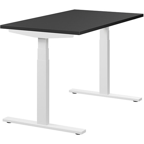 LEAP Electric Height Adjustable Sit Stand Desk Plain Top ...