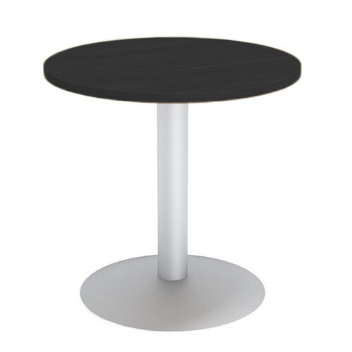 Round Reception Coffee Table D650xh630 Black