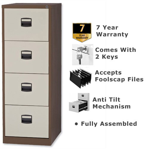 4 Drawer Steel Filing Cabinet ...