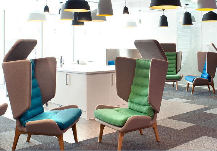 Orangebox Office Furniture Showroom In London Huntoffice